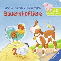 Mein allererstes Stickerbuch: Bauernhoftiere von Cuno,  Sabine, Dal Lago,  Gabriele