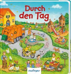 Mein allererstes Wimmelbuch: Durch den Tag (Mini-Ausgabe) von Kugler,  Christine, Schumann,  Sibylle