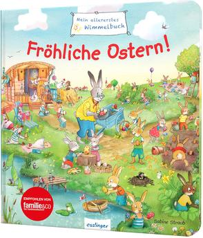 Mein allererstes Wimmelbuch: Fröhliche Ostern! von Schumann,  Sibylle, Straub,  Sabine
