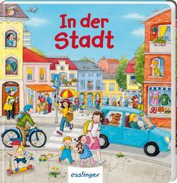 Mein allererstes Wimmelbuch: In der Stadt (Mini-Ausgabe) von Reckers,  Sandra, Schumann,  Sibylle