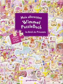 Mein allererstes WimmelPuzzleBuch – Im Reich der Prinzessin von Bartl,  Ulla
