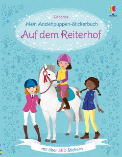 Mein Anziehpuppen-Stickerbuch: Auf dem Reiterhof von Bowman,  Lucy, Secheret,  Jessica