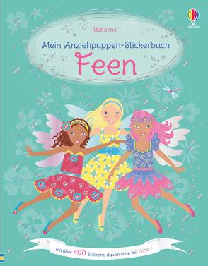Mein Anziehpuppen-Stickerbuch: Feen von Leyhane,  Vici, Watt,  Fiona