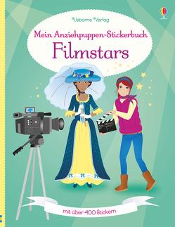 Mein Anziehpuppen-Stickerbuch: Filmstars von Arrowsmith,  Vicky, Osborne,  Heike, Watt,  Fiona