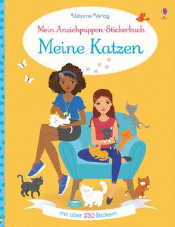 Mein Anziehpuppen-Stickerbuch: Meine Katzen von Baggott,  Stella, Bowman,  Lucy, Miller,  Antonia