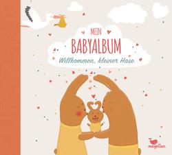 Mein Babyalbum – Willkommen, kleiner Hase von Schiefelbein,  Susanne, Taube,  Anna