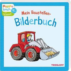 Mein Baustellen-Bilderbuch von Fleßner,  Hannah, Reckers,  Sandra