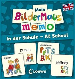 Mein Bildermaus-Memo – Englisch – In der Schule – At School von Labuch,  Kristin