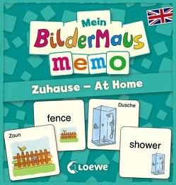 Mein Bildermaus-Memo – Englisch – Zuhause – At Home von Labuch,  Kristin