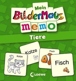 Mein Bildermaus-Memo – Tiere von Broska, Elke