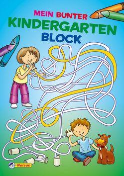 Mein bunter Kindergartenblock von Ortega,  Christian
