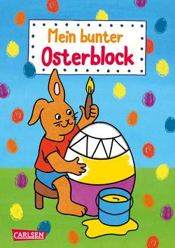Mein bunter Osterblock von Pöter,  Andrea