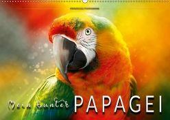 Mein bunter Papagei (Wandkalender 2018 DIN A2 quer) von Roder,  Peter