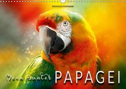 Mein bunter Papagei (Wandkalender 2019 DIN A3 quer) von Roder,  Peter