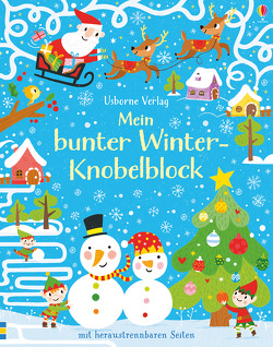Mein bunter Winter-Knobelblock von Curll,  Jana, Keay,  Claire, Ordas,  Emi, The Boy Fitz Hammond, Tudhope,  Simon