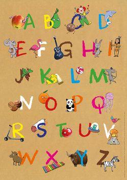 Mein buntes Abc-Poster von Rath,  Tessa