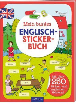 Mein buntes Englisch-Stickerbuch von Schnabel,  Dunja