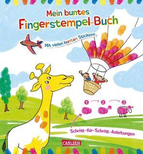 Mein buntes Fingerstempel-Malbuch von Leintz,  Laura, Reimers,  Silke