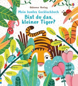 Mein buntes Gucklochbuch: Bist du das, kleiner Tiger? von Kimpimaki,  Essi, Taplin,  Sam