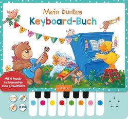 Mein buntes Keyboard-Buch von Birkenstock,  Anna Karina