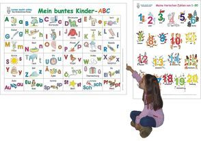 Mein buntes Kinder-ABC + Meine tierischen Zahlen von 1-20
