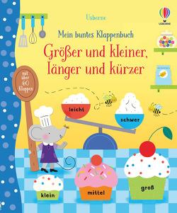 Mein buntes Klappenbuch: Größer und kleiner, länger und kürzer von Luthringer,  Mélisande, Watson,  Hannah