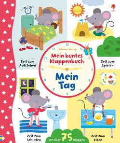 Mein buntes Klappenbuch: Mein Tag von Bathie,  Holly, Luthringer,  Mélisande