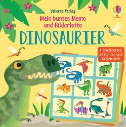 Mein buntes Memo und Bilderlotto: Dinosaurier von Lucas,  Gareth, Smith,  Sam