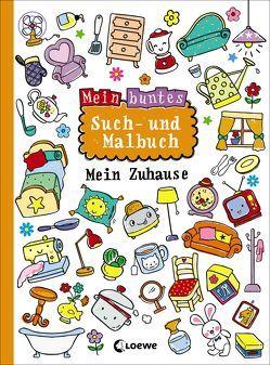 Mein buntes Such- und Malbuch: Mein Zuhause von Schlensog,  Mareike
