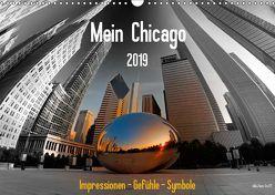 Mein Chicago. Impressionen – Gefühle – Symbole (Wandkalender 2019 DIN A3 quer) von Hans Steffl MHS Photography,  Mike