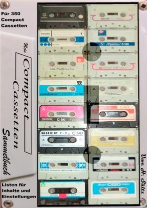 Mein Compact-Cassetten-Sammelbuch/Notizbuch mit Inhaltsverzeichnis von Sültz,  Uwe H.