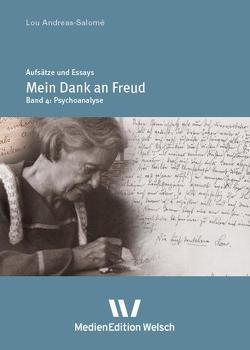 """Mein Dank an Freud"" von Andreas-Salomé,  Lou, Rempp,  Brigitte, Weber,  Inge"