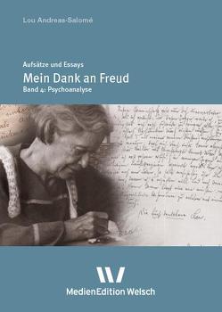 """""""Mein Dank an Freud"""" von Andreas-Salomé,  Lou, Rempp,  Brigitte, Weber,  Inge, Welsch,  Ursula"""