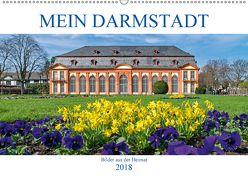 Mein Darmstadt (Wandkalender 2018 DIN A2 quer) von Werner,  Christian