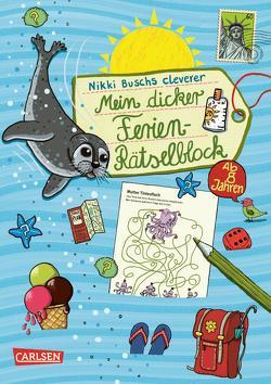 Mein dicker Ferien-Rätselblock von Busch,  Nikki, Hahn,  Christiane