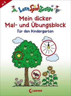 Mein dicker Mal- und Übungsblock für den Kindergarten von Merle,  Katrin
