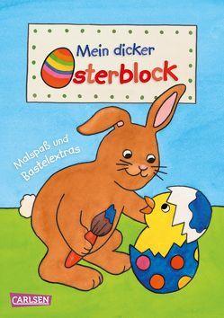 Mein dicker Osterblock von Pöter,  Andrea