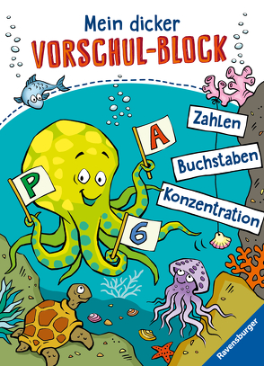 Mein dicker Vorschul-Block von Lohr,  Stefan, Pahl,  Simone