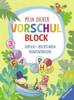 Mein dicker Vorschulblock von Hagemann,  Antje, Lohr,  Stefan