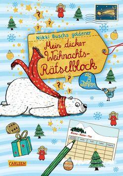 Mein dicker Weihnachts-Rätselblock von Busch,  Nikki, Hahn,  Christiane