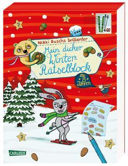 Mein dicker Winter-Rätselblock von Busch,  Nikki, Hahn,  Christiane