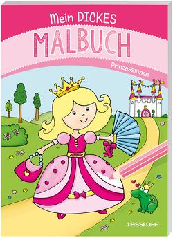 Mein dickes Malbuch. Prinzessinnen von Schmidt,  Sandra