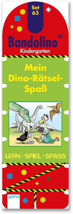 Mein Dino-Rätsel-Spaß von Barnhusen,  Friederike, Johannsen,  Bianca