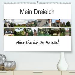 Mein Dreieich (Premium, hochwertiger DIN A2 Wandkalender 2021, Kunstdruck in Hochglanz) von Ola Feix,  Eva