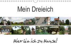 Mein Dreieich (Wandkalender 2018 DIN A4 quer) von Ola Feix,  Eva