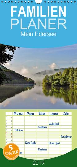 Mein Edersee – Familienplaner hoch (Wandkalender 2019 , 21 cm x 45 cm, hoch) von Loß,  Heike