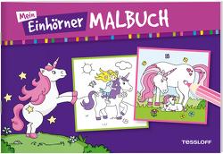 Mein Einhörner-Malbuch von Schmidt,  Sandra