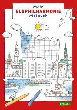 Mein Elbphilharmonie-Malbuch von Ahlgrimm,  Achim