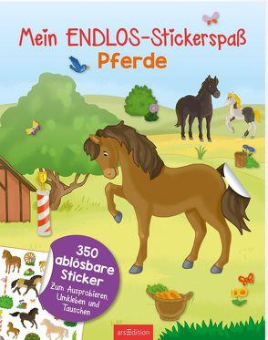 Mein Endlos-Stickerspaß Pferde von Metzen,  Isabelle