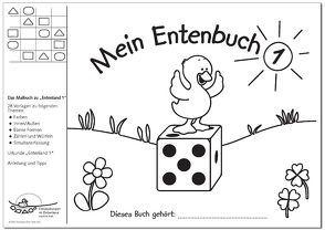 """Mein Entenbuch 1, Das Malbuch zu """"Entenland 1"""" von Emde,  Matthias, Janzer,  Monika, Preiss,  Gerhard"""